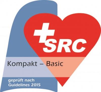 BLS-AED-Gütesiegel Kompakt (Basic Provider) Die Starco Security AG ist SRC zertifziert. BLS-AED-Kompaktkurs (Basic Provider)